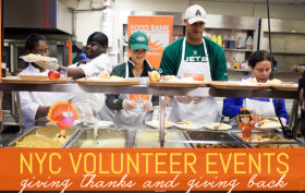 nyc volunteer events, new york food bank