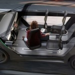 ideo self-driving car concept, autonomous car, self driving vehicle