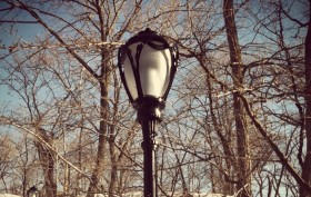 Lamppost, Central Park