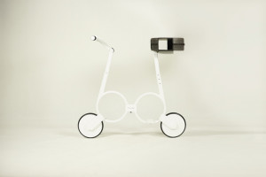 folding electric impossible bike 0