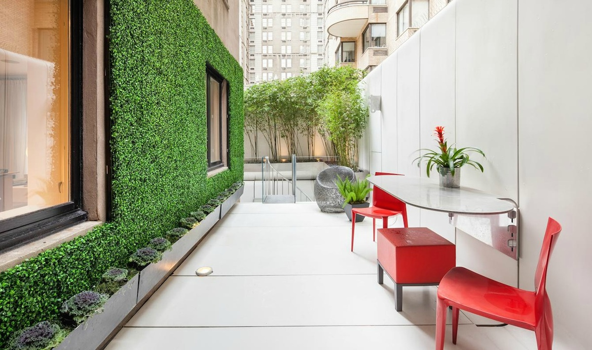 4 East 62nd Street, The Curzon House, Maya Lin renovation, David Giovannitti terrace