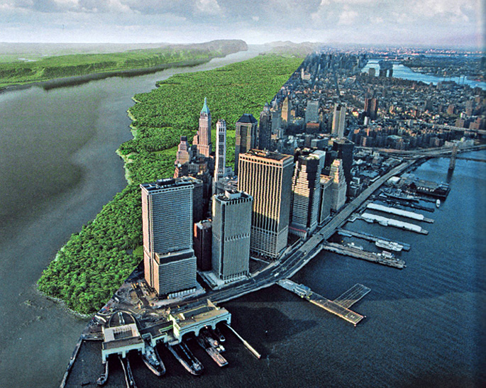 How One Man Created a 3D Map of Manhattan When It Was Just Hills