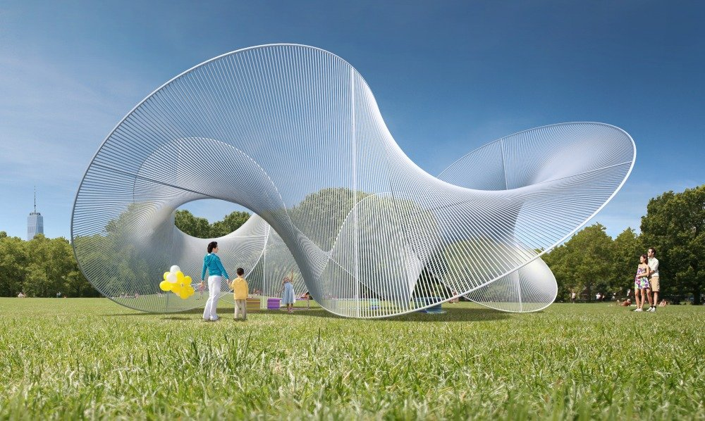 City of Dreams Pavilion, Tied Together, Governors Island