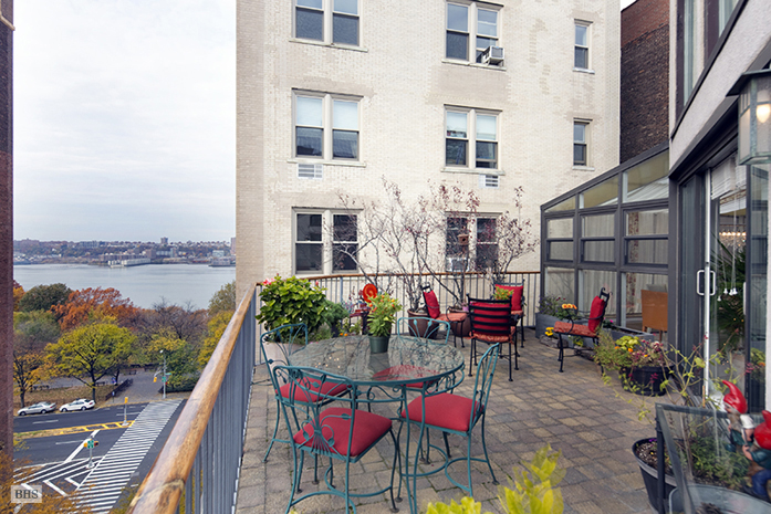 329 West 108th Street, terrace nyc, penthouse upper west side