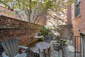 102 East 10th Street, historic duplex with English basement, Peter Stuyvesant