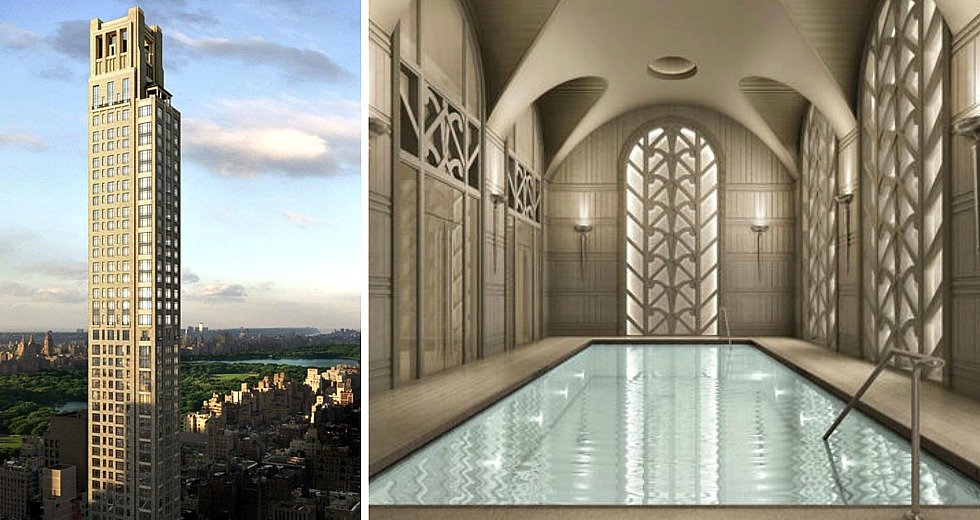 Revealed asking prices floorplans for 520 park avenue for Most expensive penthouse in nyc