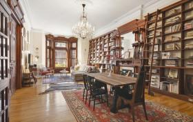 917 President Street, prewar detail with modern updates, mahogany home