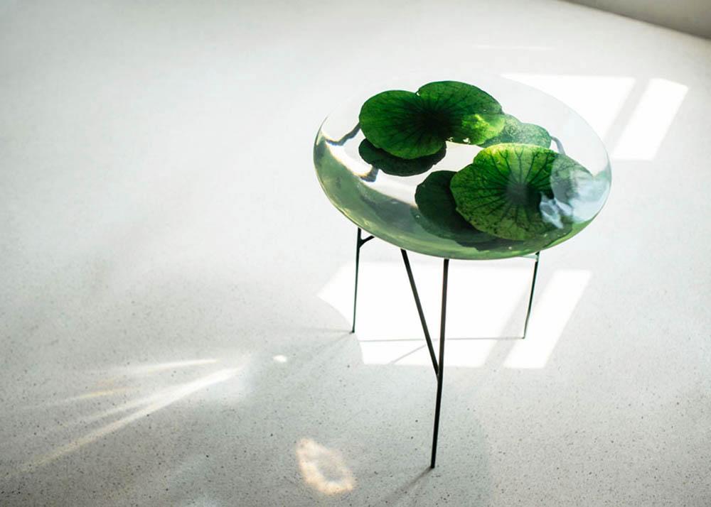 Olivia Lee Lotus Pond Table Float 2