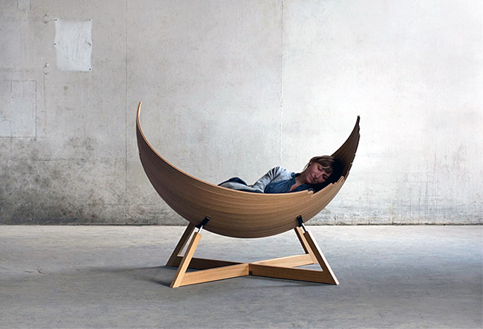 Delightful Viking Inspired Barca Bench Fuses Furniture With Boat Building Techniques