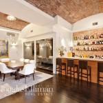 704 Broadway, The Dandy, wine cellar, wet bar