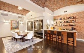 704 Broadway, The Dandy, wine cellar, wet bar