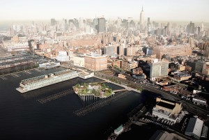 Pier 55, Hudson River Park Trust, Barry Diller