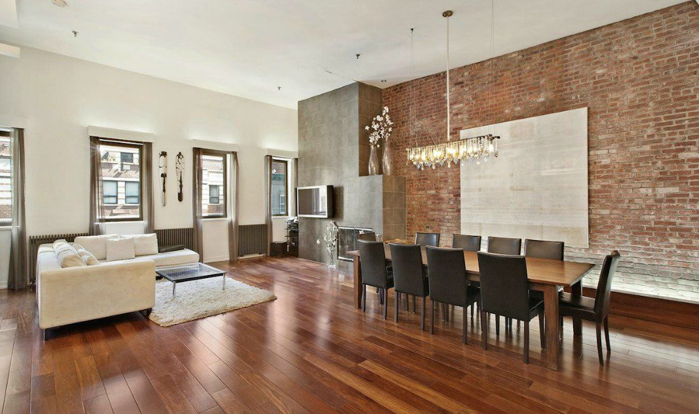 Espn nfl guru adam caplan swaps almost identical tribeca for Apartments in tribeca nyc