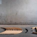 Jacob Joergensen, viking-inspired, Barca Bench, Danish design, Viking-style, International Furniture Design Competition Asahikawa (IFDA)