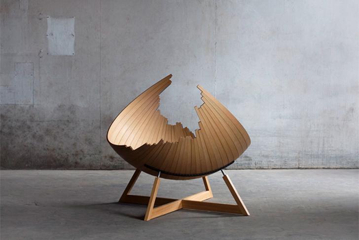 Viking inspired barca bench fuses furniture with boat for Danish design furniture replica uk