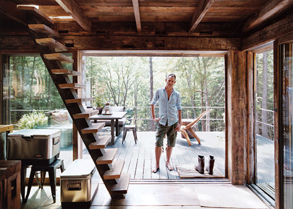 Sensational Fashion Stylist Scott Newkirk Goes Unplugged In His 14 Square Foot Largest Home Design Picture Inspirations Pitcheantrous