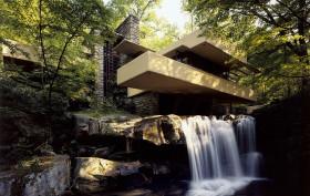 falling water house, falling water frank lloyd wright
