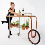 Andreu Carulla, CarRem, herbs trolley, restaurant trolley, trolley design, Mediterranean-style design, Spanish design, pick fresh herbs, Vilar Restaurant, seasoning food