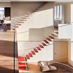 Steven Harris, floating staircase, tribeca loft renovation, Woolworth Building
