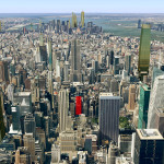 Google Earth, NYPL, Bryant Park, NYC construction, development projects, manhattan projects