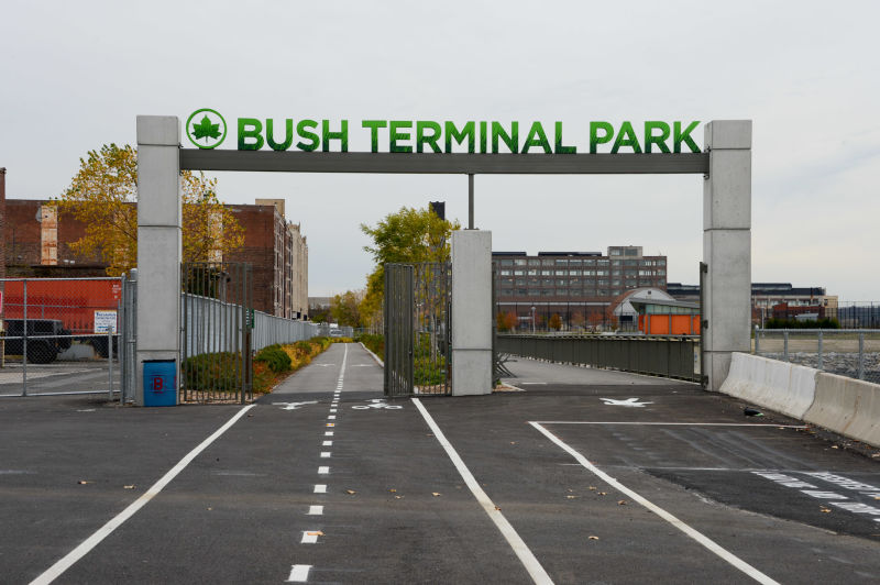 Bush Terminal Piers Park, Sunset Park