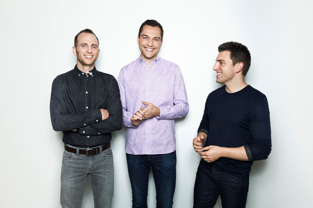 Airbnb, founders, Joe Gebbia, Nathan Blecharczyk, Brian Chesky