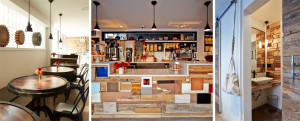 The Mill Cafe long island city, cafe long island city, cafe design, recycled materials design, design development nyc