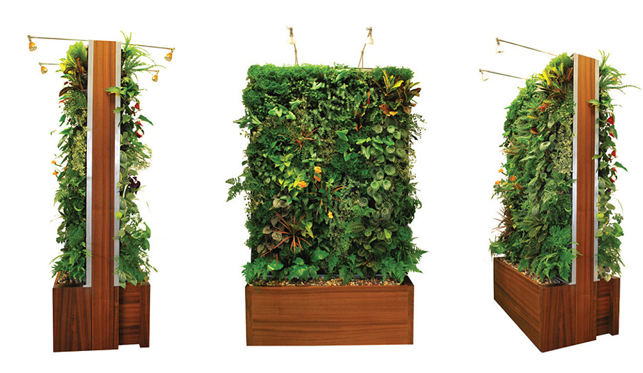 Easily Outfit Your Home In Greenery With Plant Wall Designu0027s Vertical Garden