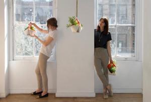 Nomad, indoor planter, portable herb planter, The Garden Apartment