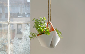 Nomad, indoor planter, portable herb planter, The Garden Apartment