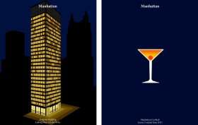 Drink like an architect, Seagram Building