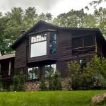 James Thomas, upstate cabin, Adirondack style