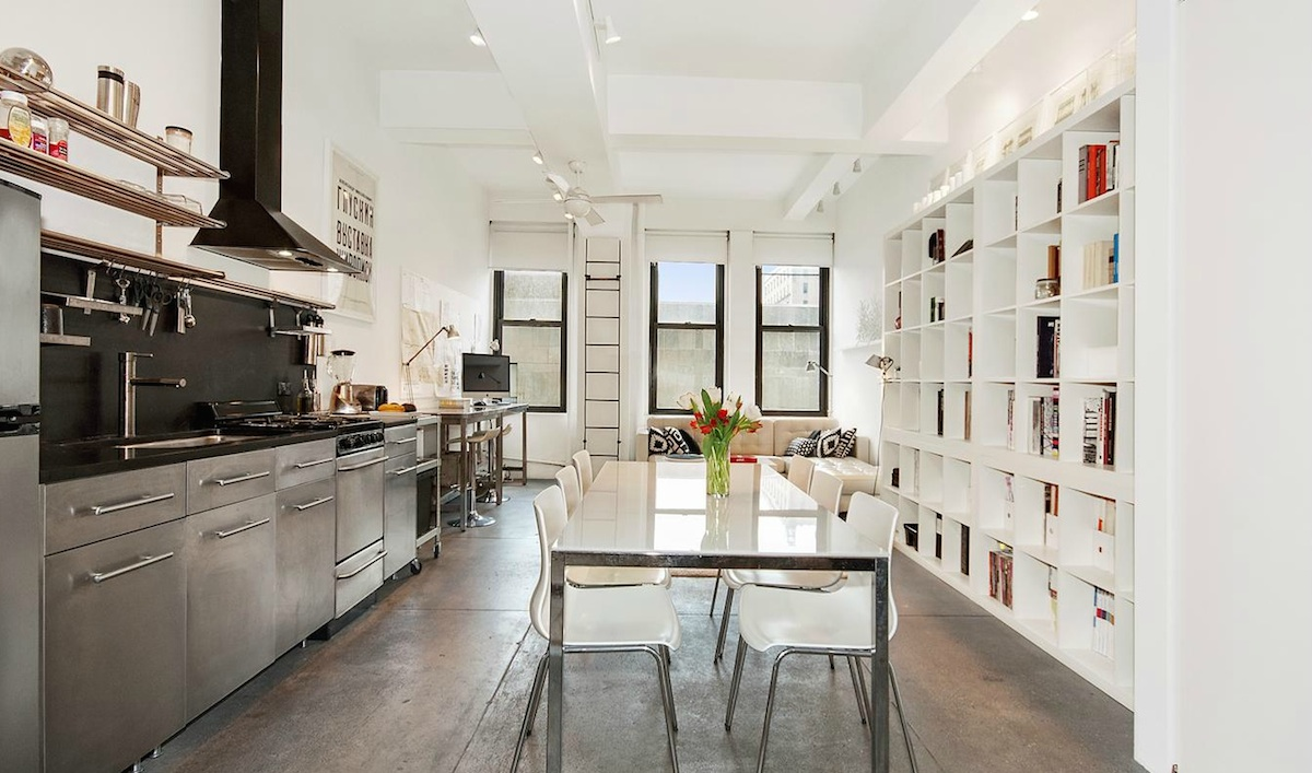 Classic Loft in Chelsea\'s Kheel Tower Features Bright Light and ...