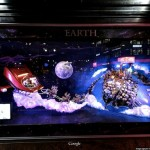 Macy's holiday windows, Google Maps