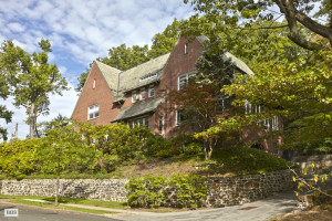 5000 Goodridge Avenue, English Country Style house, renovated home, skylit stairs