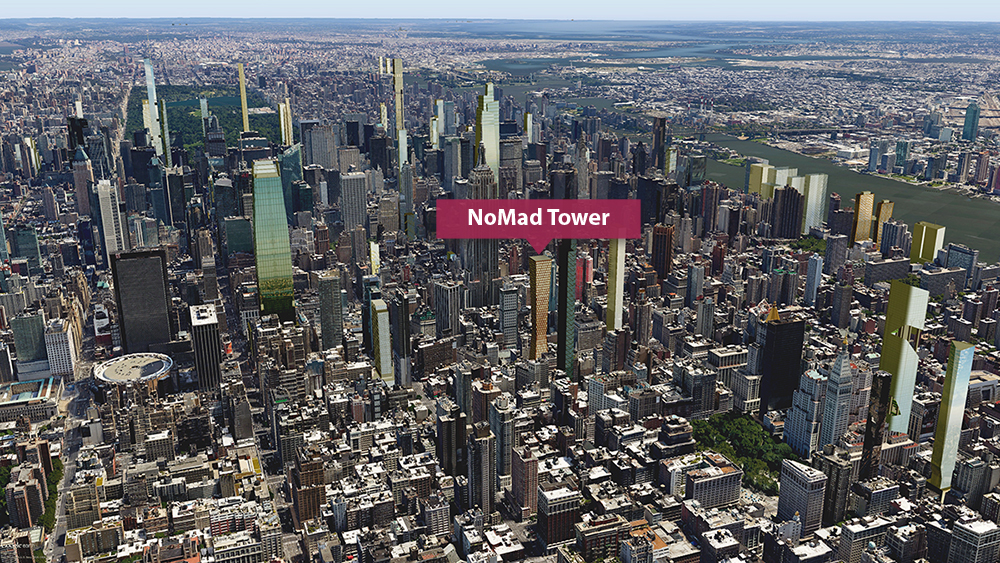 NoMad, HFZ, Fernando Romero EnterprisE, FR-EE, Marble Collegiate Church, Empire State Building