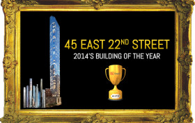6sqft building of the year 2014, 45 EAST 22ND STREET