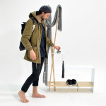 Annabelle Nichols, minimal design, Coat Rack For Bonnie, effortless design, new technologies,