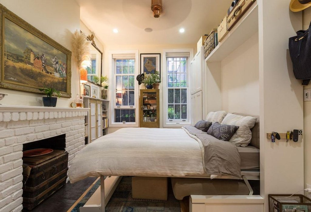 242 Sq Ft NYC, West Village Apartment, Apartments Under 300 Square Feet Nyc, Nice Design