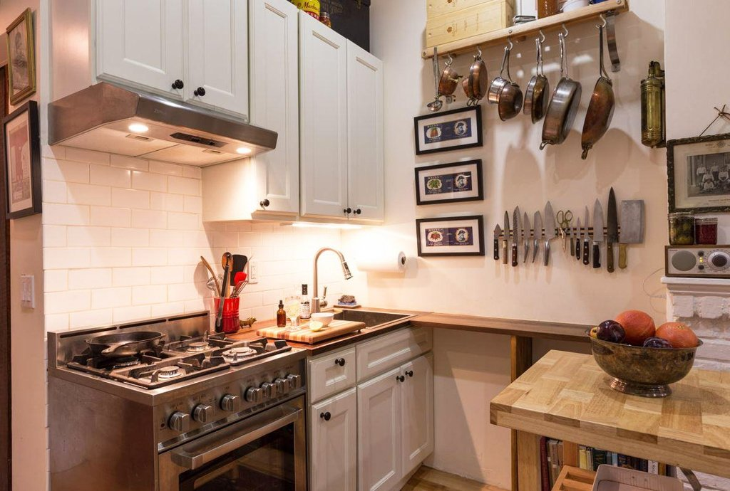 Delightful Small Nyc Kitchen Ideas Part - 2: 242 Sq Ft NYC, West Village Apartment, Apartments Under 300 Square Feet Nyc,