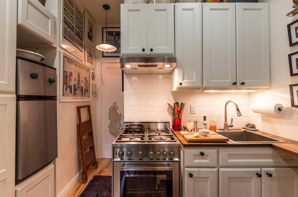 Small Nyc Kitchen Ideas Part - 17: 242 Sq Ft Nyc West Village Apartment Apartments Under 300 Square Feet  Nycapt Kitchen Ideas Fiorentinoscucina Com