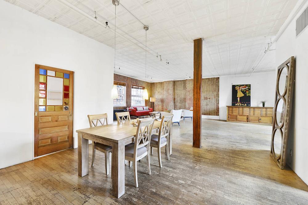 55 Prince Street, soho loft, Prince Street Works, tiffany foundry