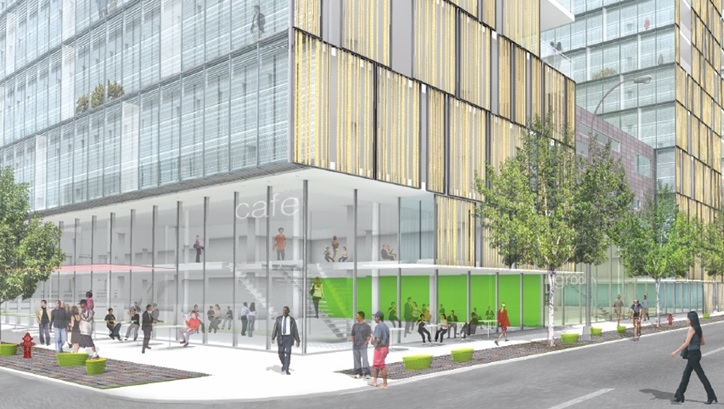 NYU 2031, Coles gym, NYU expansion plan, Perkins + Will