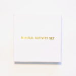 Minimal Nativity Set, contemporary religious design, Émilie Voirin