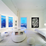 1100architect, pop art apartment nyc, pop art penthouse