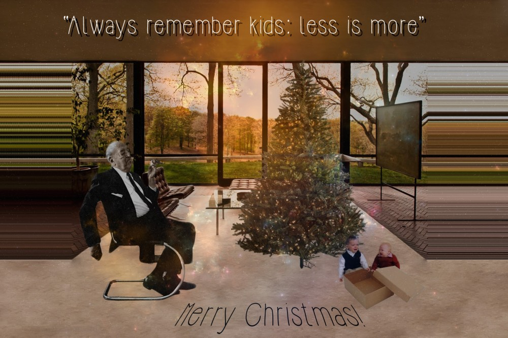 architecture holiday cards