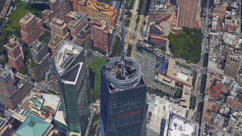 Google Map Of New York City.Explore Nyc In 3 D With Google Maps Latest Update 6sqft