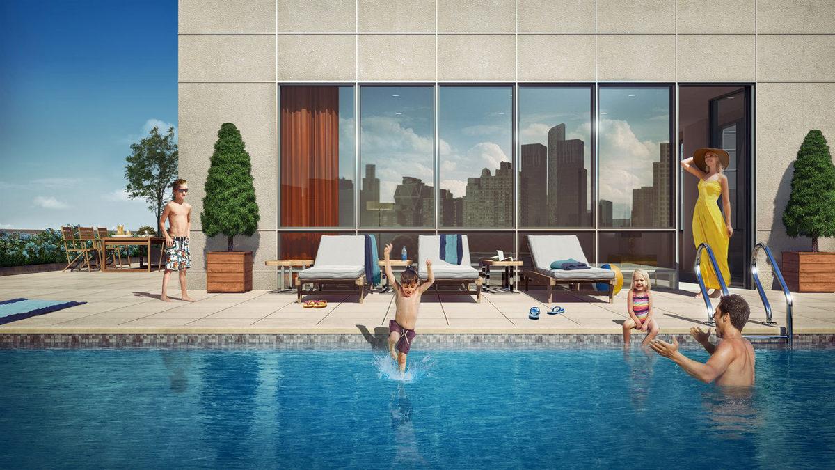 Real Estate Wire u0027Poor Dooru0027 Building Has Private Pools; WeWork Now Worth $5 Billion & Real Estate Wire: u0027Poor Dooru0027 Building Has Private Pools; WeWork Now ...
