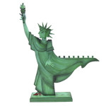 modern menorahs for hanukkah, designy menorahs, modern menorah design, modern menorahs, statue of liberty menoarh by Acme-Animal