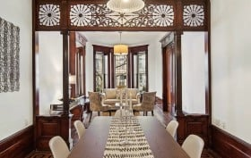 398 Sterling Place, Prospect Heights Historic District, exquisite original millwork